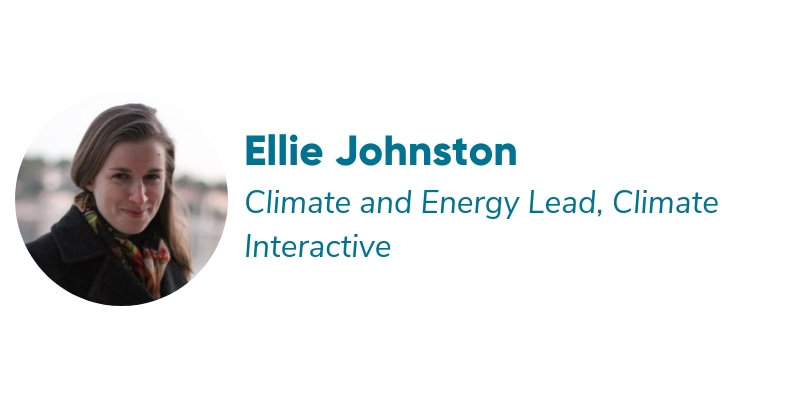 CCx: NextGen Speaker, Ellie Johnston, Climate Interactive