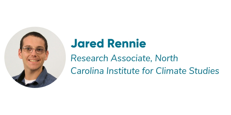 CCx: NextGen Speaker, Jared Rennie, Carolina Institute for Climate Studies