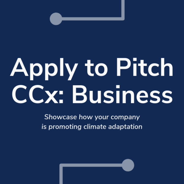Apply to Pitch CCx: Business